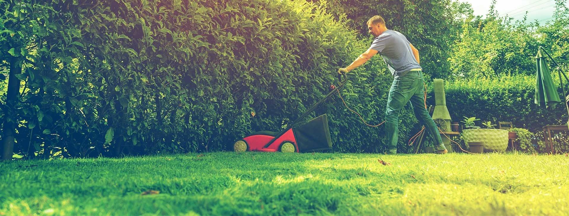 Wir bauen Ihren Garten und pflegen ihn auch